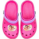 Mia and Me Official Licensed Girls Clogs PVC Beach Pool Footwear (US 8-9 (EU 24-25), Pink)