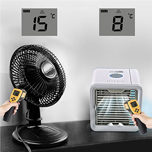 mini luftk hler mobile klimager te air cooler mit wasserk hlung zimmer raumentfeuchter mini. Black Bedroom Furniture Sets. Home Design Ideas