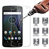 #10: SuperdealsForTheinfinity Moto G5S Plus Screen Guard Tempered Glass Full Scratchless 2.5D Anti Glare Protector