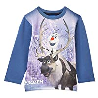 Disney Sweat Lycra Print T-Shirt for Boys - Dutch Blue