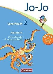 Jo-Jo Sprachbuch - Aktuelle allgemeine Ausgabe: 2. Schuljahr - Arbeitsheft in Vereinfachter Ausgangsschrift
