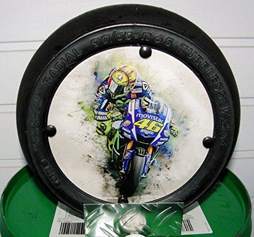 "Valentino Rossi""Art"" VR 46 Moto GP""Minislick"" Motorsport Geschenk,"