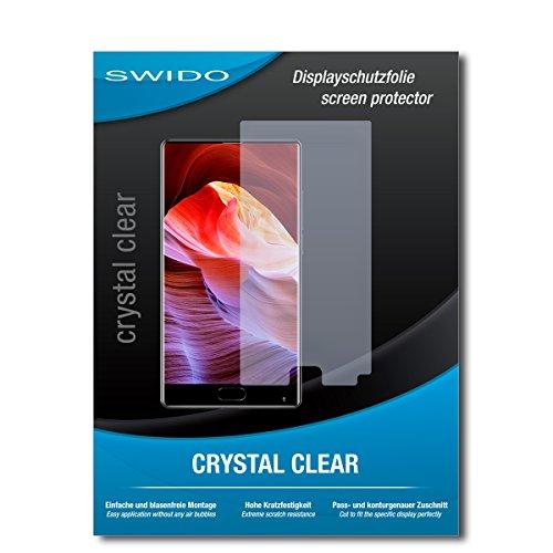 SWIDO Schutzfolie für Bluboo S1 [2 Stück] Kristall-Klar, Hoher Härtegrad, Schutz vor Öl, Staub & Kratzer/Glasfolie, Bildschirmschutz, Bildschirmschutzfolie, Panzerglas-Folie