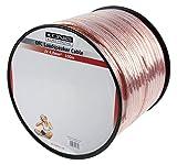 König KN-LSP05R-100 Câble Haut-parleur OFC 2 x 4,0 mm Bobine 100 m Transparent