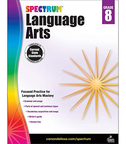 Spectrum Language Arts, Grade 8 (Spectrum Language 5 Arts)