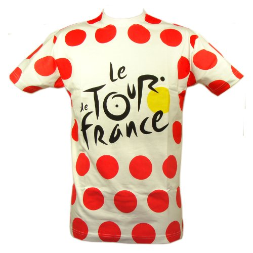 Le Tour de France - T-Shirt 'Maillot à Pois' Tour de France Officiel - Couleur : Pois rouges