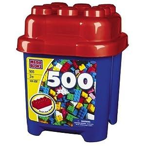 Mega Bloks Micro Bloks Mega 905-bucket, 500 Partes