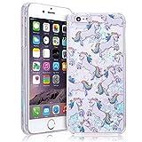 smartlegend Bling Coque rigide pour Apple iPhone 6/6S Plus massif (14cm) Bleu pailleté - Best Reviews Guide