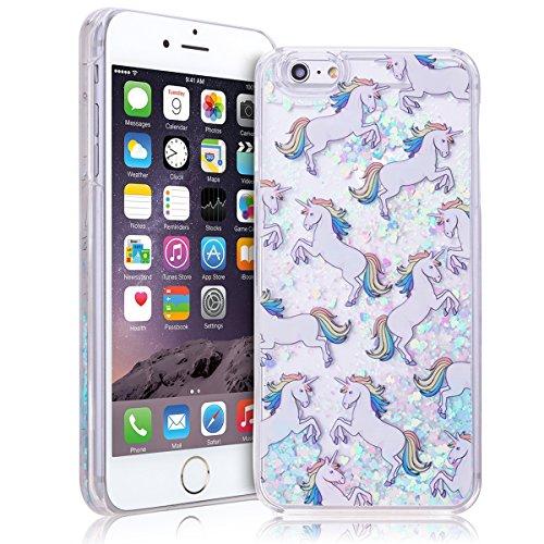 apple-iphone-6s-glitzer-hulle-smart-legend-flussiges-case-einhorn-muster-hardcase-schneekugel-handyh