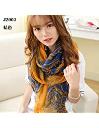 Ding Decoration Spring And Autumn Paragraph Scarf Chiffon Wild Women Fashion Shawl (170 * 80Cm)