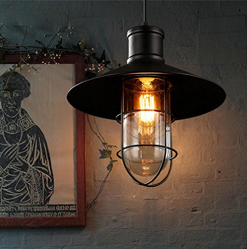 GNEW stile loft a camera da letto ferro battuto lampadario , black non contiene la sorgente di luce *158
