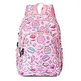 Truffa del gatto dello spuntino del sacchetto dello zaino del fumetto della borsa della scuola primaria della busta di scuola primaria