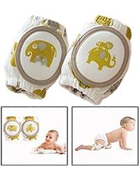 Itian 1 pare Rodilleras de Gateo - Rodilleras del Bebé, para Niños y Niñas