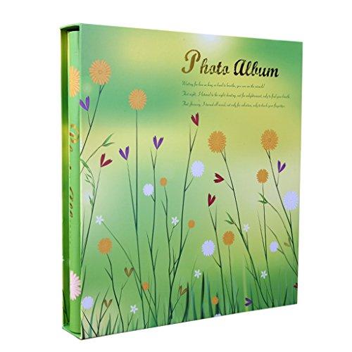 al Retro Album, Familienfotoalbum mit hoher Kapazität kann gespeichert Werden 500 6X4 (4D) -Fotos Fotos Tourismus lieben (Color : Green) ()