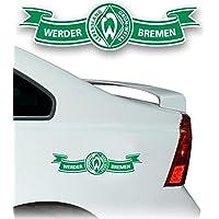 AUTO AUFKLEBER STICKER SV WERDER BREMEN Banderole mittel