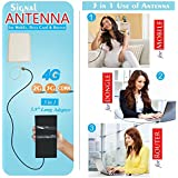 3AN Telecom 4G, 3G, GSM & CDMA High Gain 12dbi Network Antenna For Mobile, Data Card & Router With 15m Cable And 5.9Inch Big Adaptor