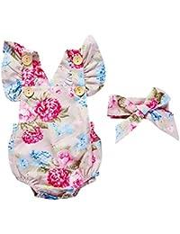 db0642e68d11 Amazon.it  Beige - Tutine e body   Bambina 0-24  Abbigliamento