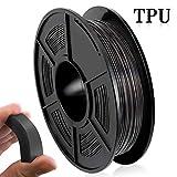 Filamento Impresora 3D TPU, Filamento TPU 1.75 mm 500G (1.1 lb), Materiales Impresión 3D Flexibles,...