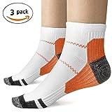 Description: Les chaussettes de compression peuvent aider à maintenir un débit sanguin adéquat dans les pieds et aider à maintenir la circulation sanguine pour améliorer les performances athlétiques. Chaussettes de compression Kroo utilisent une tech...