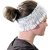 Econo Disposable White Headbands (100)