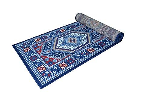 Webtappeti.it tappeto passatoia guida corsia - tappeto economico disegno orientale passatoia stile classico 70x240 blu