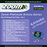 Zoom Karaoke CD+G - Platinum Artists 95: Sting & The Police by Zoom Karaoke