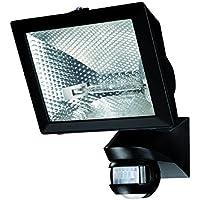 Theben luxa 102–500noir–Détecteur Présence portée 12/6M Angulo, angle 500C projecteur noir