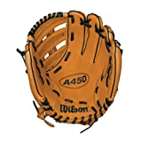 Best Baseball Gloves - Wilson A450 Series Baseball Gloves - Brown Review