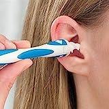 Shop Story–Hochdruckreiniger Ohrstecker–ermöglicht einen Weich und einfache Reinigung des Ohrenschmalz der Ohren oder Wachs Gehörschutz–Enthält 16tètes Ersatz-Einweg