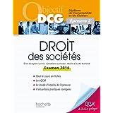 Objectif DCG Droit des sociétés 2013/2014