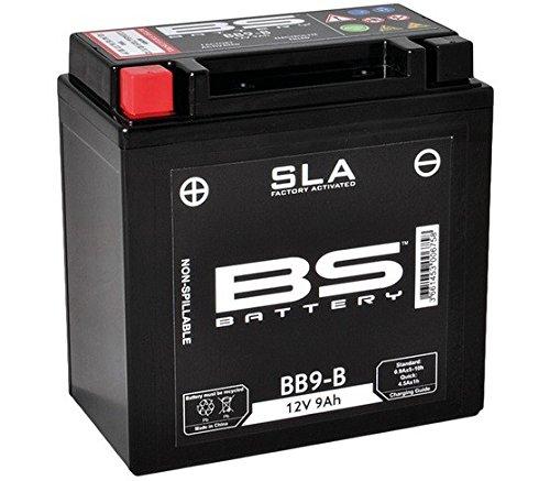 Xfight-Parts Batterie BB9-B 12V 9Ah SLA DIN 50914 Versiegelt (FA) 135x139x75mm 7073232 für Piaggio NRG 50 Power Pure Jet