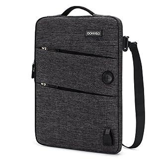 33d232ec15934 DOMISO 14 Zoll Wasserdicht Laptophülle mit USB Ladeanschluss Headphone Port  Laptop Tasche für Acer Aspire 1