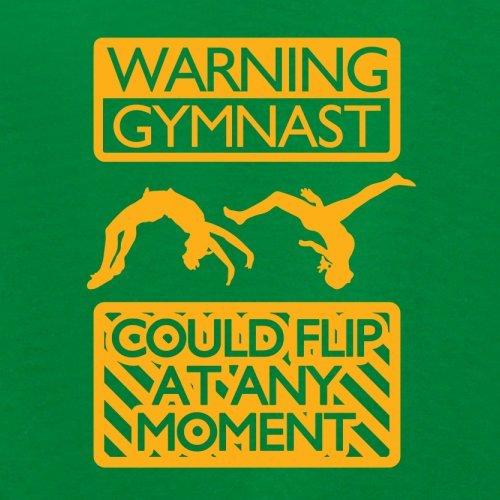 Warning Gymnast - Damen T-Shirt - 14 Farben Grün