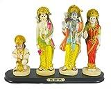 Ram Darbar with Lord Ram, Lord Laxman, G...