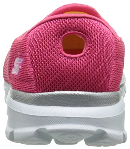 Skechers Go Walk 3 Insight, Baskets Basses Femme, Rose Bonbon, Various Pink (Hpk)