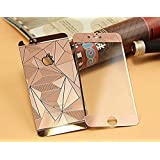 ACCWORLD Front Back 3D Diamond Colorful Tempered Glass Screen Protector IPHONE 5/5s (Rose Gold)