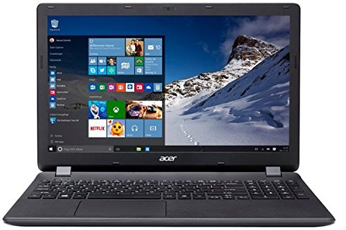 Acer Aspire ES1-572-38KV 15.6-inch Laptop (Core i3 /4GB/1TB/LINUX), Midnight Black