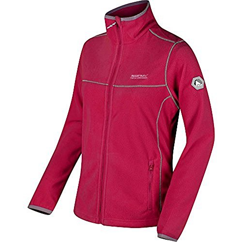 Regatta Great Outdoors Damen Floreo II Fleece-Jacke (14UK/40 DE) (Grau Meliert) -
