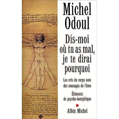 Dis-Moi Ou Tu as Mal, Je Te Dirai Pourquoi (Developpement Personnel) (French Edition) by Michel Odoul(2002-01-01)