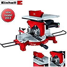 Troncatrice per legno con piano superiore TH-MS 2513 T Einhell 1800 Watt