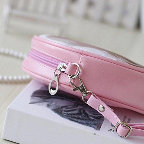BZLine® Frauen Handtaschen und Cartoon Handtaschen Kids Girls Mini Crossbody Tasche E