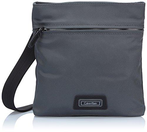 Calvin Klein Jeans Umhängetasche Jamie Flat Crossover Grau (Castlerock-Pt) J5IJ500433 Preisvergleich