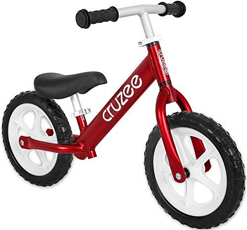 Preisvergleich Produktbild Cruzee RED - UltraLeicht Laufrad (1,9 kg) fur kinder ab 1.5 bis 5 Jahre