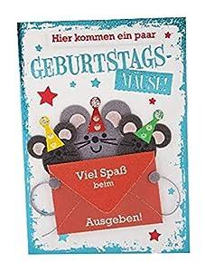 Depesche 3003.030Tarjeta de felicitación con Ornamento, cumpleaños