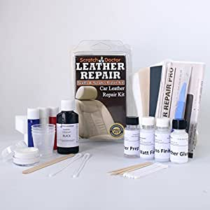 black leather repair kit for bmw car interior fix tear scratch scuffs holes. Black Bedroom Furniture Sets. Home Design Ideas