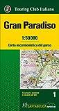 Gran Paradiso 1:50.000. Carta escursionistica del parco. Con Libro: Gran Paradiso. Guida del parco