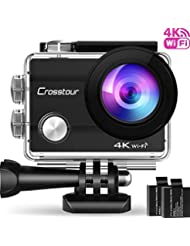 Action Cam 4K, Cross Tour Action Camera Underwater 30m