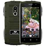 ZOJI Z6 3G Smartphone Ohne Vertrag (Android 6.0, IP68 Wasserdicht Outdoor Handy, 1GB Ram+8GB Rom, Dual-SIM Quad-Core, 4,7 Zoll Touch-Display, Dual Kamera, Fingerabdruck GPS )- Armeegrün