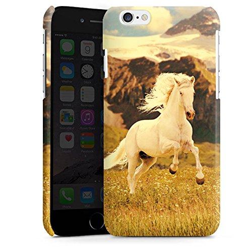 Apple iPhone 5 Housse Outdoor Étui militaire Coque Cheval blanc Étalon Jument mustang Cas Premium brillant