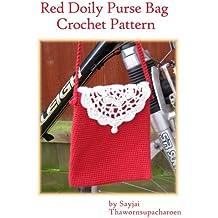Red Doily Purse Bag Crochet Pattern (English Edition)